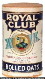 Royal Club Oat Box