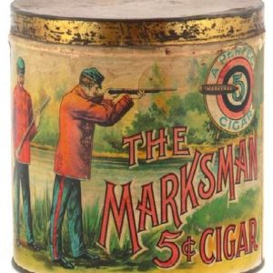 Marksman Cigar Can
