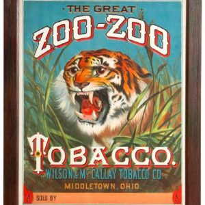 Zoo-Zoo Tobacco Sign