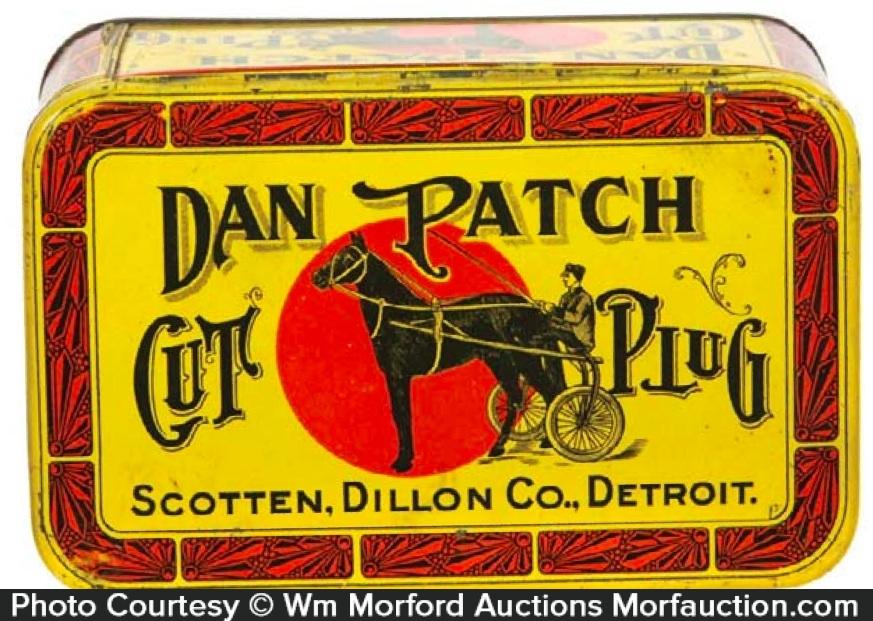 Dan Patch Tobacco Tin