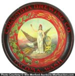 Columbia Brewing Co. Beer Tray