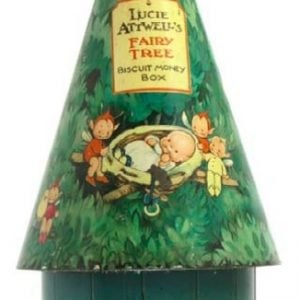 Fairy Tree Biscuit Money Box Tin Bank