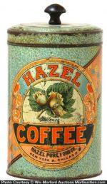 Hazel Coffee Can