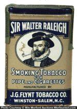 Sir Walter Raleigh Tobacco Tin
