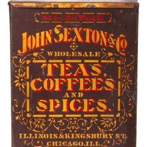 John Sexton Tea Coffee & Spice Bin