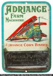 Adriance Farm Machinery Match Holder