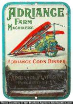 Adriance Farm Machinery Match Holder