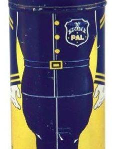 Police Pal Tooth Powder Tin