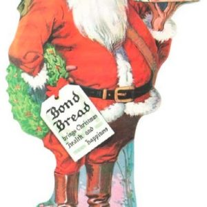 Bond Bread Santa Sign