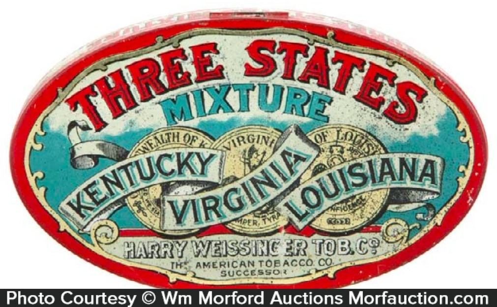 Three States Mixture Tobacco Tin