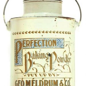 Perfection Baking Powder Pail