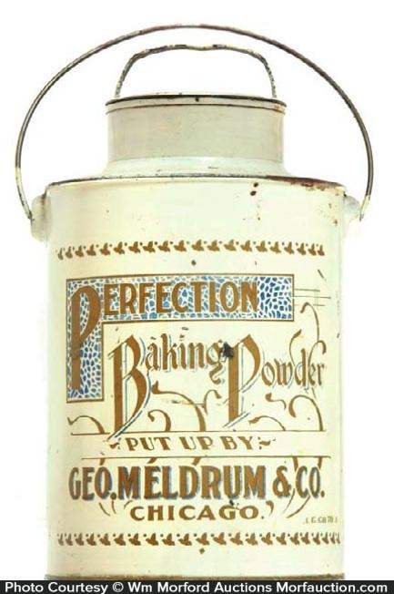 Perfection Baking Powder Pail