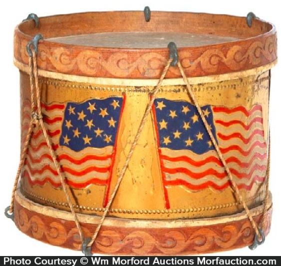 Patriotic Toy Drum