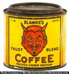 Blanke's Faust Blend Coffee Tin