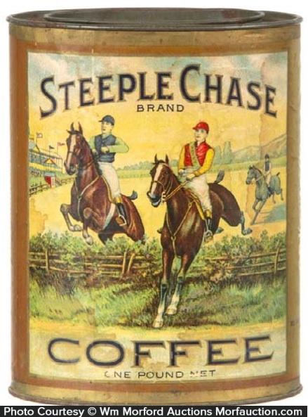 Steeple Chase Coffee Tin