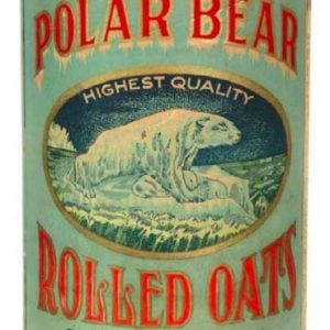 Polar Bear Oats Box