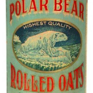 Polar Bear Oats Box