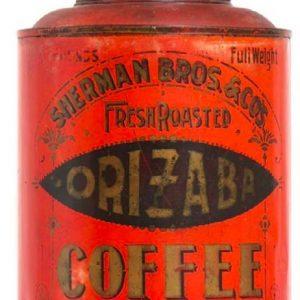 Sherman Bros. Orizaba Coffee Can