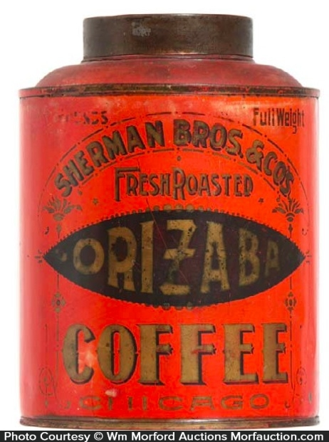 Sherman Bros. Orizaba Coffee Can
