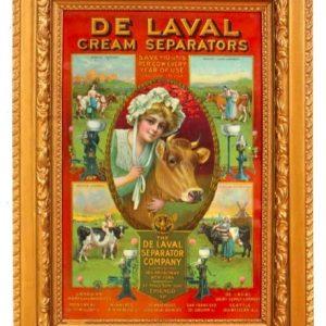 Delaval Cream Separators Sign