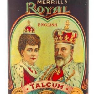 Royal Talcum Powder Tin