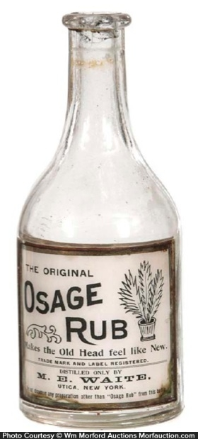 Osage Rub Bottle