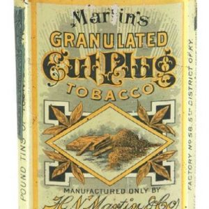 Martine's Cut Plug Tobacco Tin