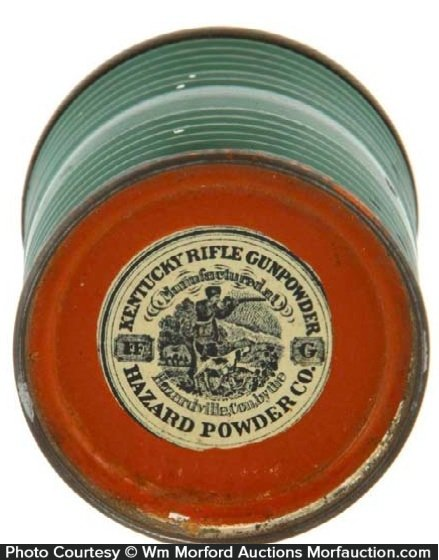 Hazard Kentucky Rifle Gunpowder Paperweight