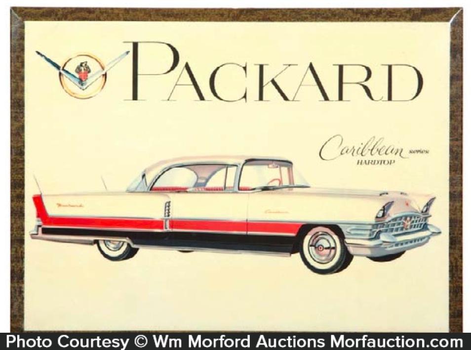 Packard Caribbean Sign