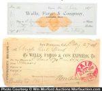 Wells Fargo Express Ephemera
