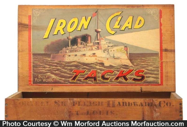 Iron Clad Tacks Display Box