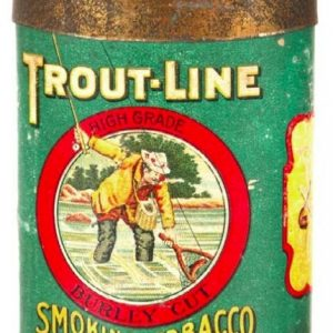Trout-Line Pocket Tobacco Tin