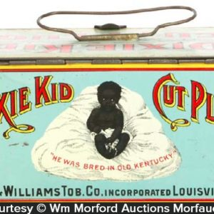 Dixie Kid Tobacco Lunchbox Tin