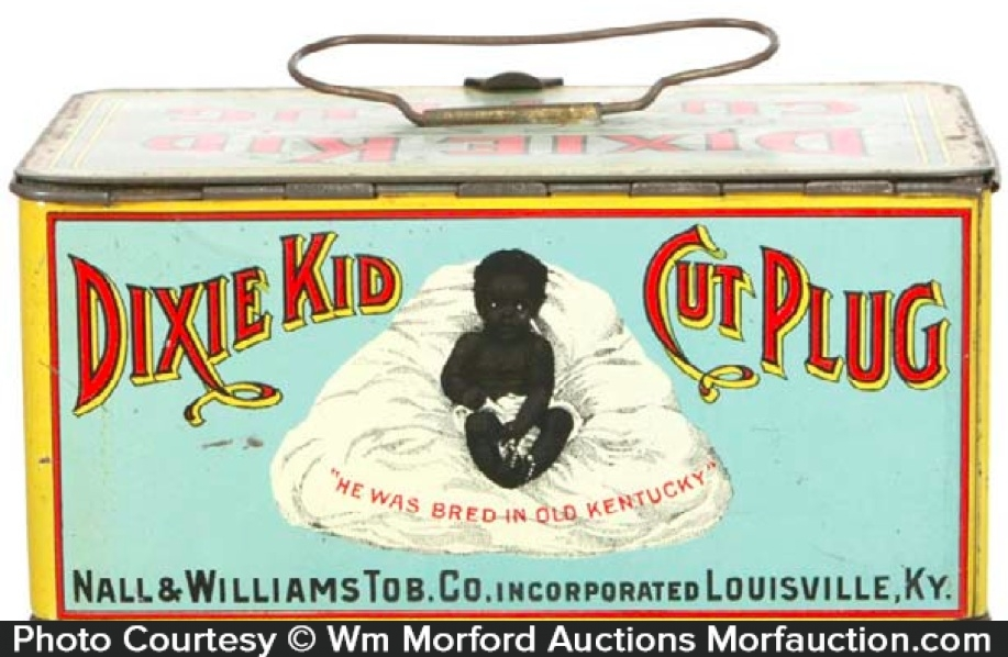 Dixie Kid Tobacco Lunchbox Tin