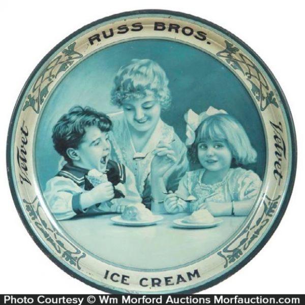 Russ Bros. Ice Cream Tray