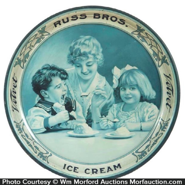 Russ Bros. Ice Cream Tray
