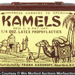 Kamels Condom Tin
