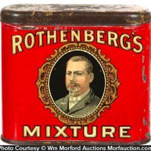 Rothenberg's Mixture Tobacco Tin