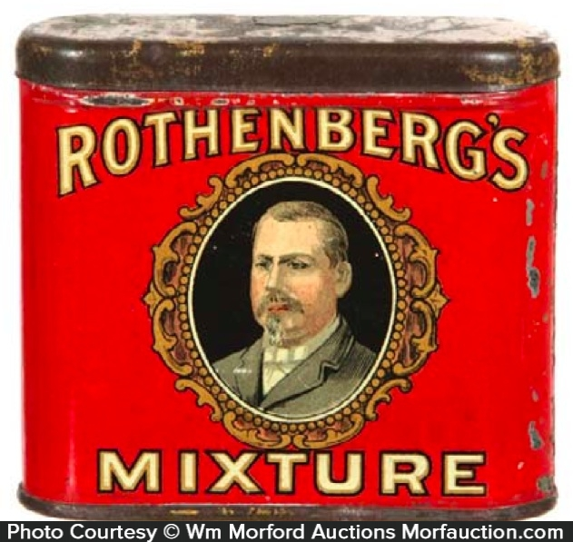 Rothenberg's Mixture Tobacco Tin