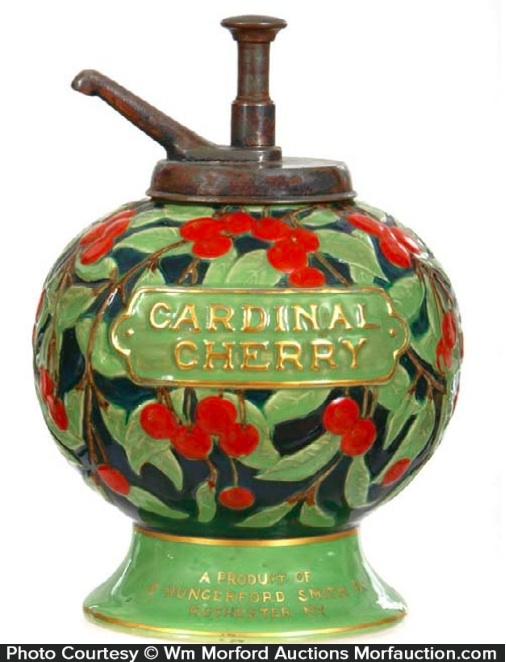 Cardinal Cherry Dispenser