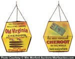 Old Virginia Cheroots String Holder Sign