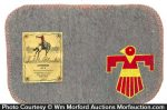 Salesman's Sample Saddle Blanket