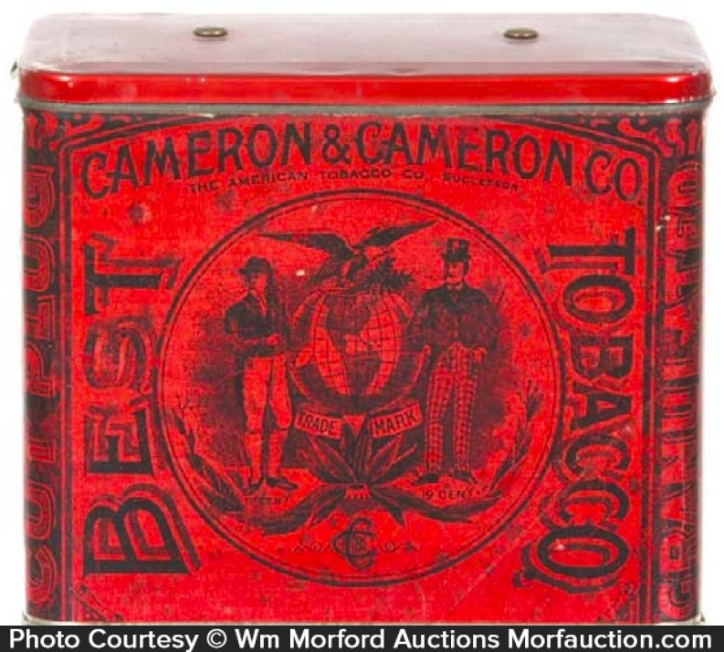 Cameron & Cameron Best Tobacco Tin