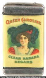 Queen Caroline Segars Match Safe