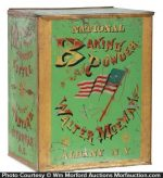 National Baking Powder Store Tin