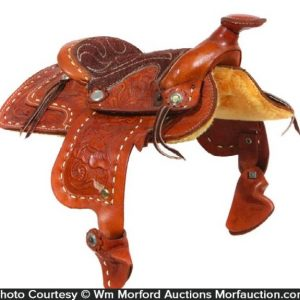 Salesman's Sample Saddle