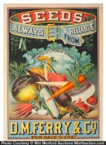 D.M. Ferry Seed Poster
