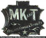 Mk and T Railroad Match Holder
