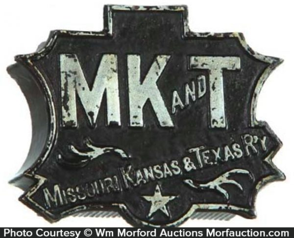 Mk and T Railroad Match Holder