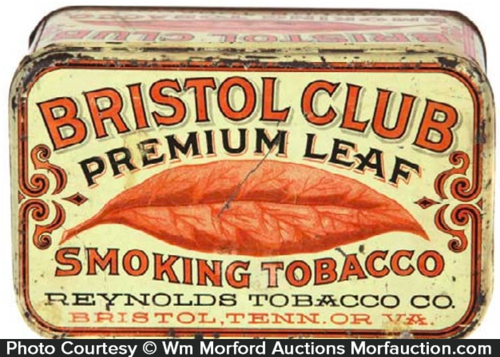 Bristol Club Tobacco Tin